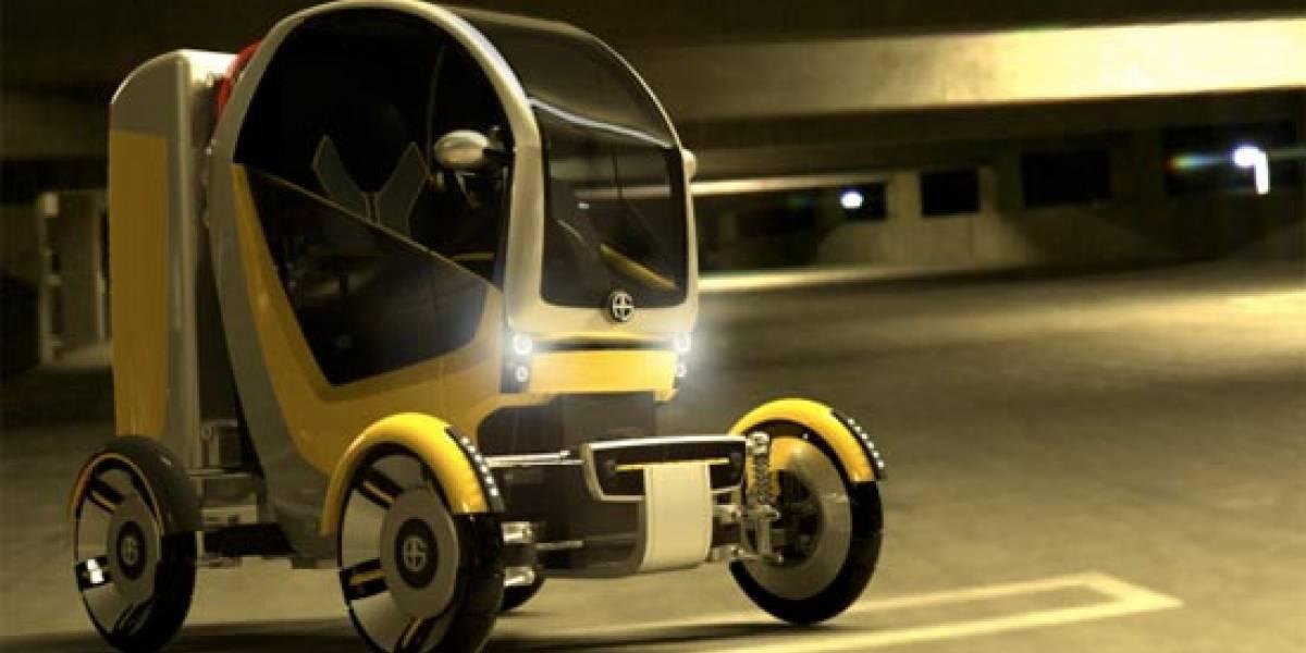 Concepto: CarGo. Un Vehículo eléctrico de alta versatilidad