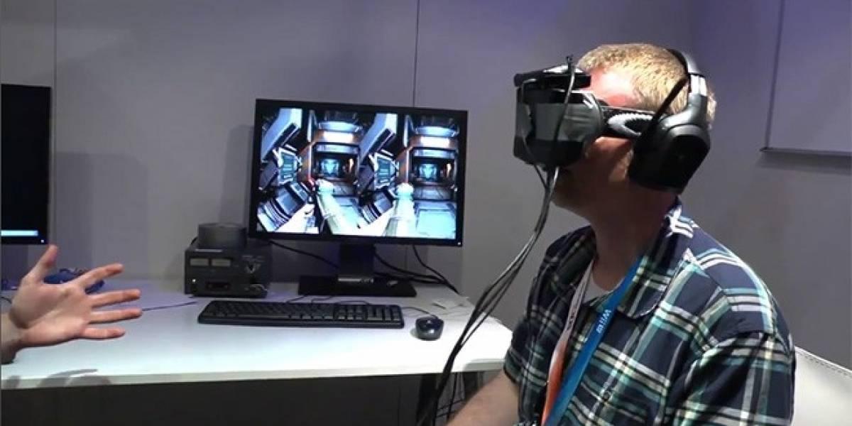 E3 2012: John Carmack muestra su casco de realidad virtual