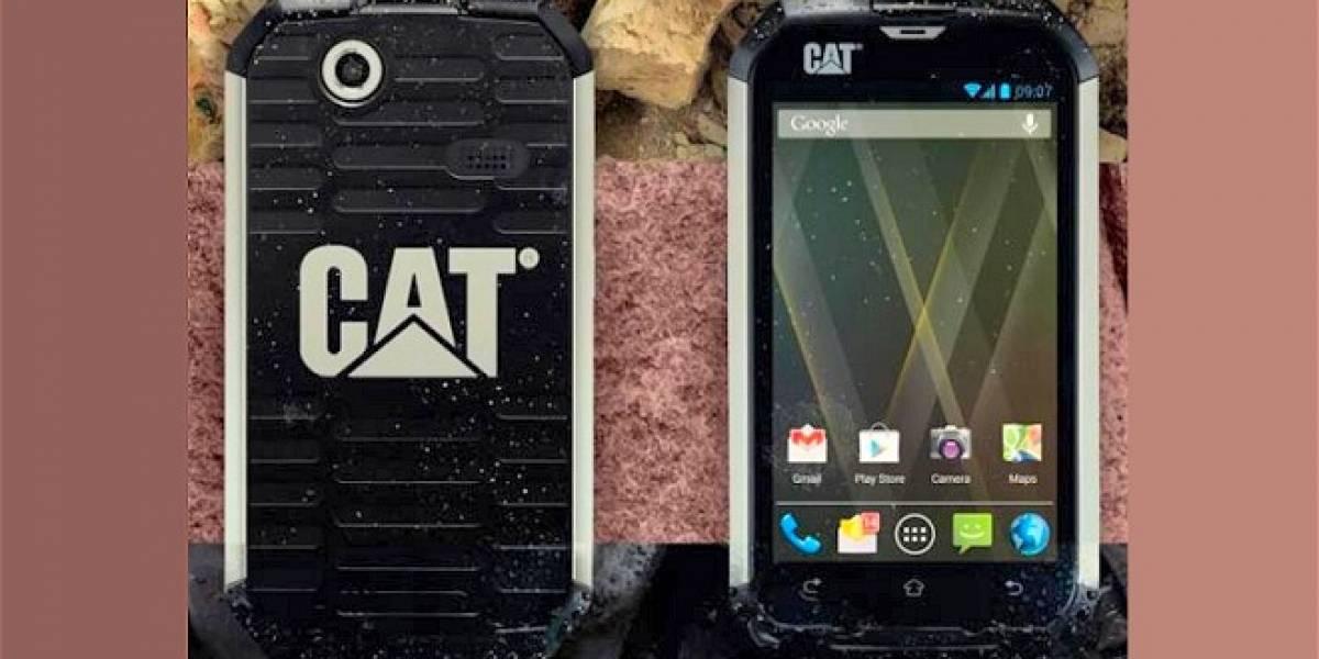 MWC13: Caterpillar es conquistado por Android y lanza el CAT B15