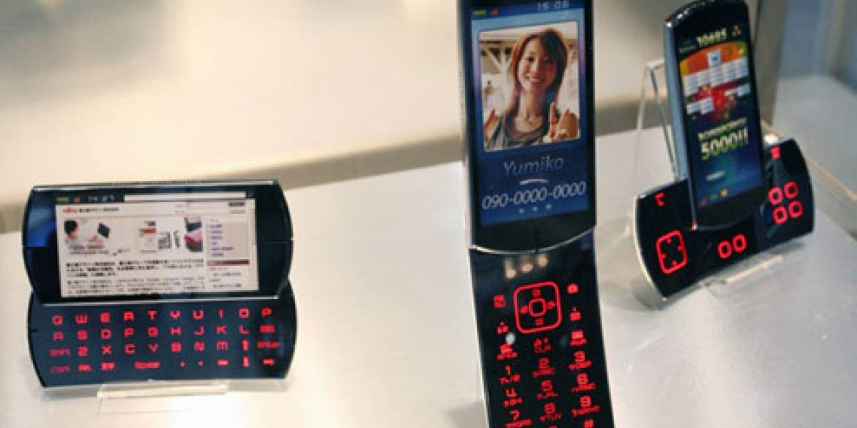 CEATEC 2008: Fujitsu y su teléfono conceptual reconfigurable