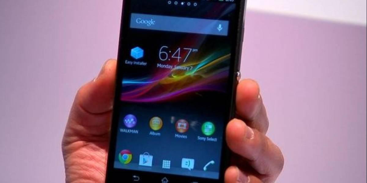 CES 2013: Sony presenta sus nuevos móviles, Xperia Z y Xperia ZL