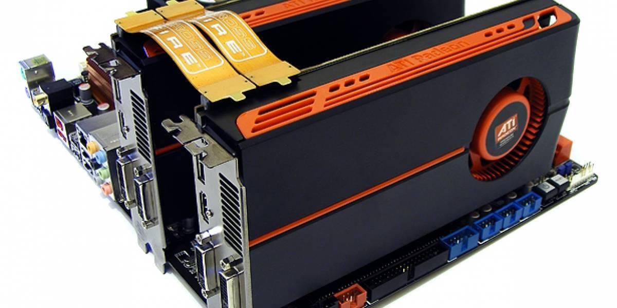 AMD ATi Radeon HD 5770 en CrossFireX
