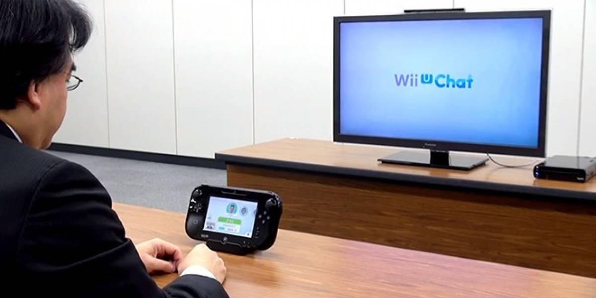 Wii U Chat no podrá utilizarse mientras juegas