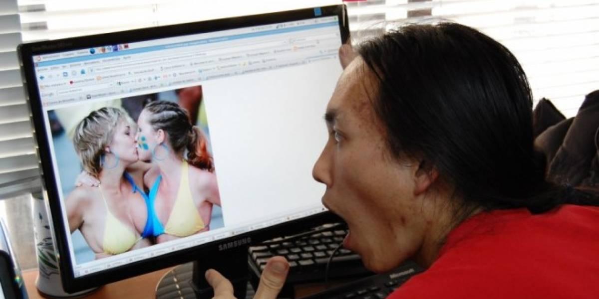 China: Guapas lesbianas del bosque colapsan internet