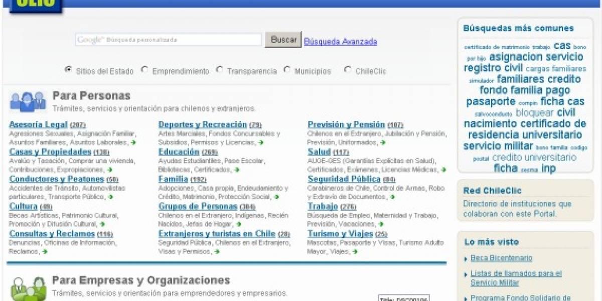 ChileClic: La guía de servicios del Estado potenciada por Google