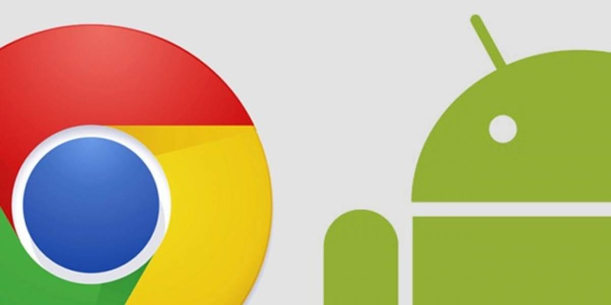 Actualización de Chrome para Android trae reproducción de audio en segundo plano