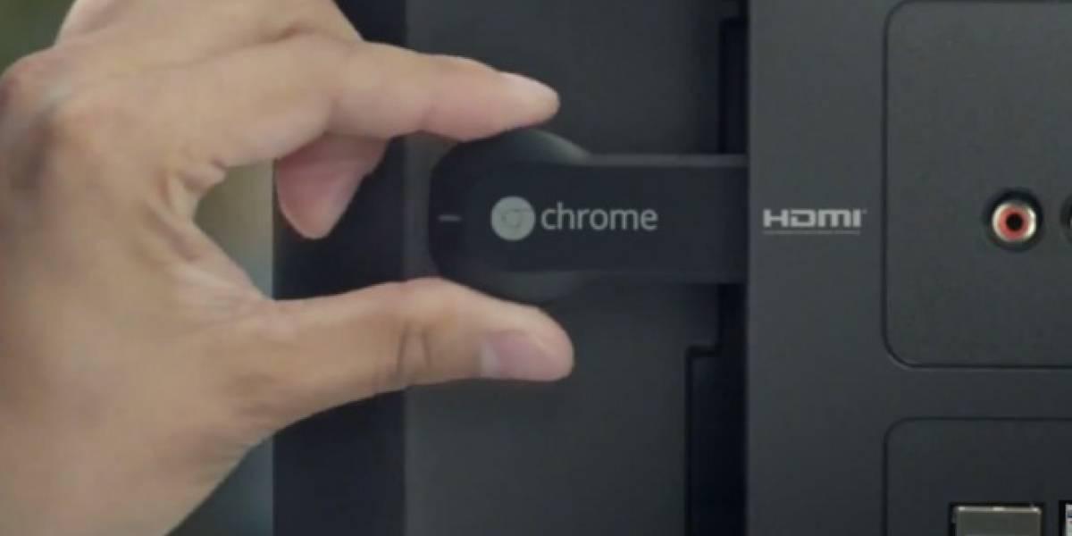 Google ahora promociona apps aptas para usar con Chromecast