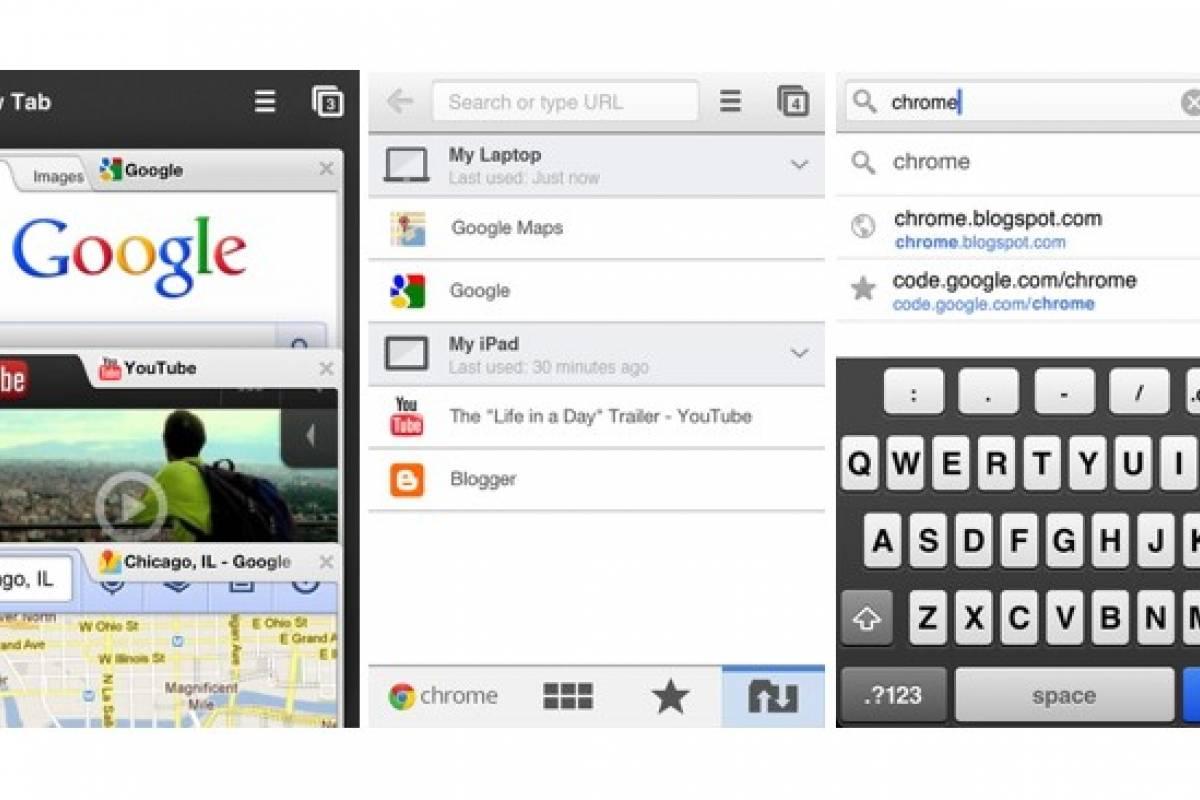 Chrome para iOS, ahora con navegación a pantalla completa