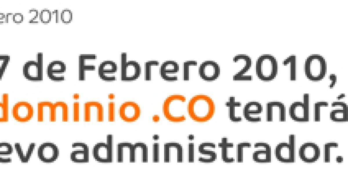 Colombia: Dominios .co cambian de administrador