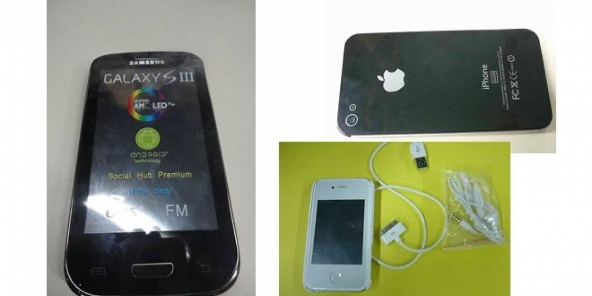 Argentina: AFIP decomisa 540.000 teléfonos móviles falsos