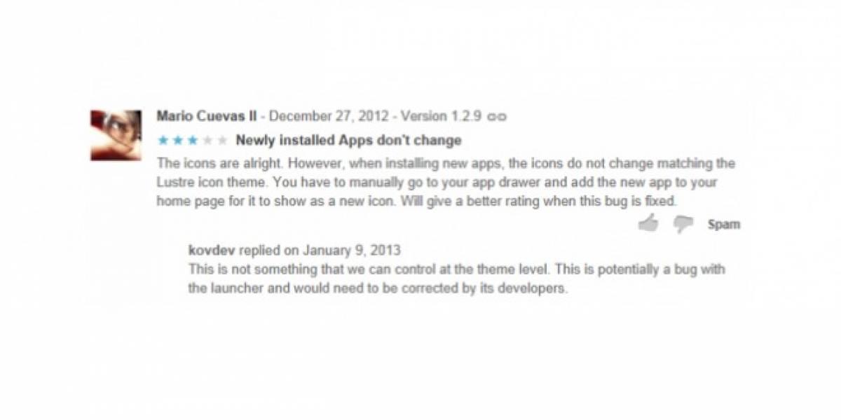 Google permite a desarrolladores contestar comentarios en Google Play