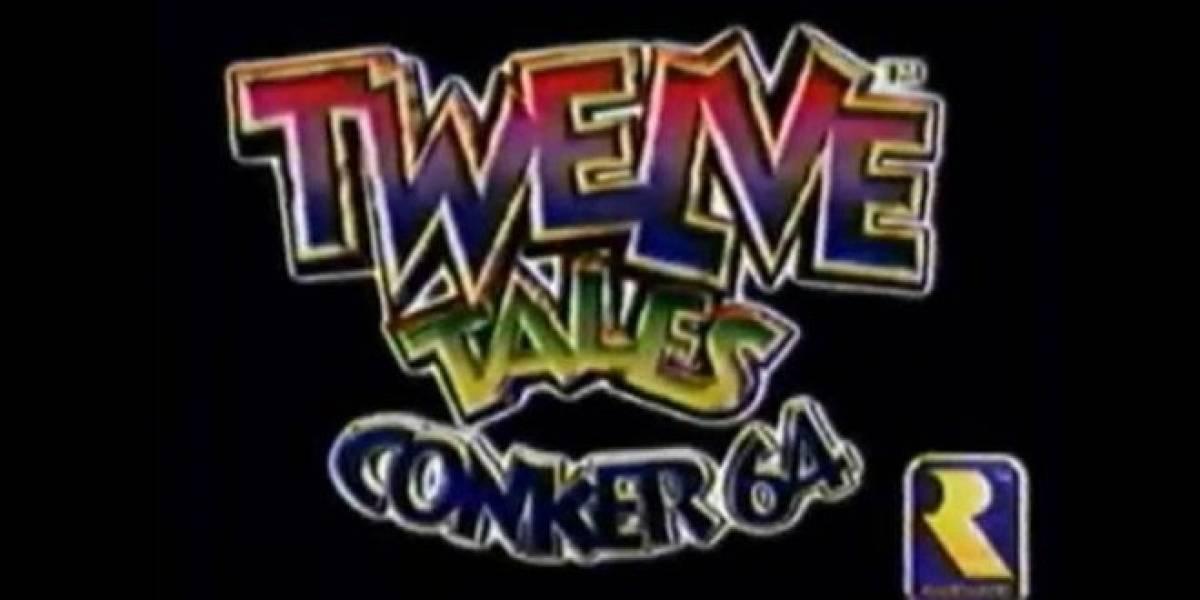 Treinta minutos de Twelve Tales, la aventura original de Conker en Nintendo 64