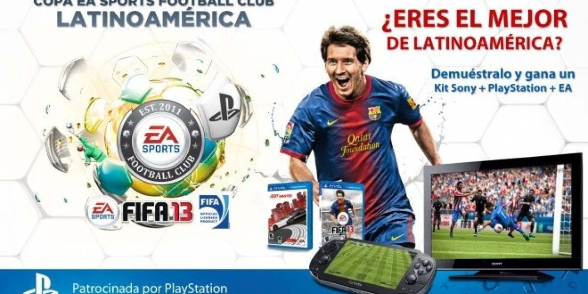Se extienden los cupos para la Copa Latinoamericana de FIFA 13