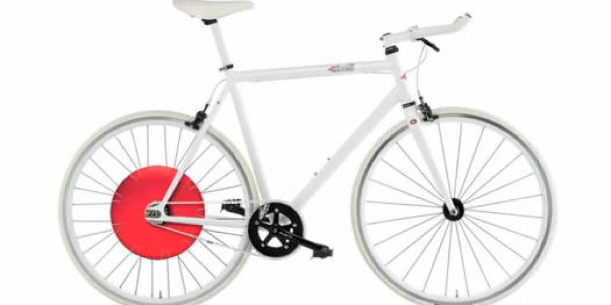 Rueda de Copenhague: Para una nueva generación de bicicletas inteligentes