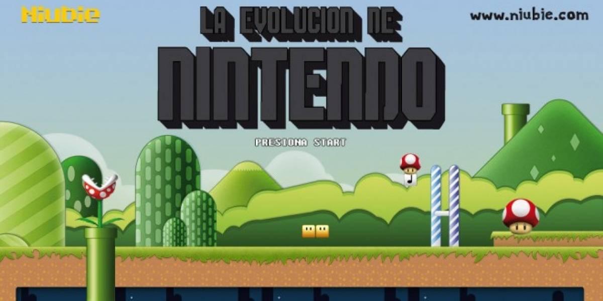 La evolución de las consolas de Nintendo hasta la WiiU