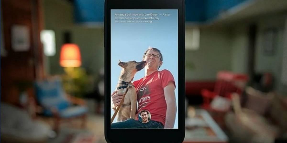 Facebook pondrá publicidad en la pantalla de inicio de los smartphones