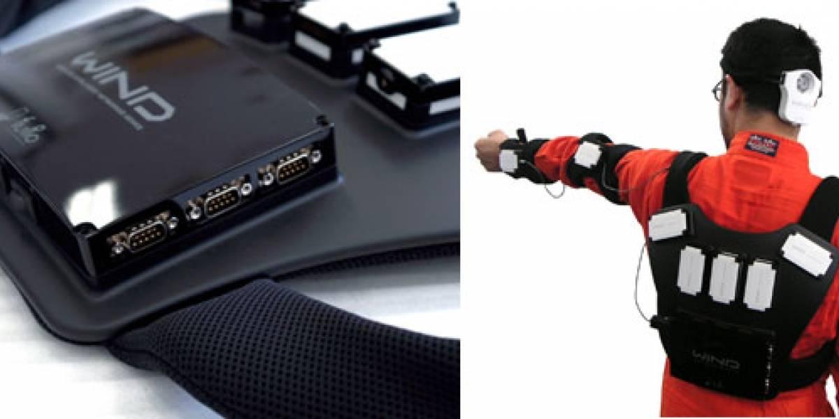 WIND: Controlando tu robot con un chaleco inalámbrico