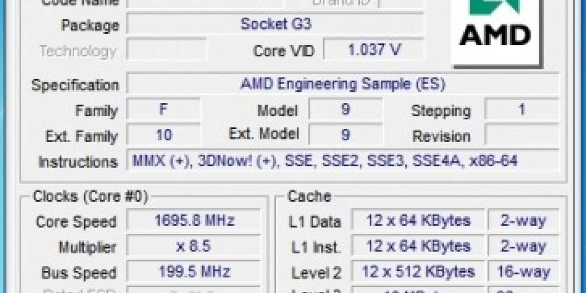 Habemus AMD Magny Cours de 12 núcleos