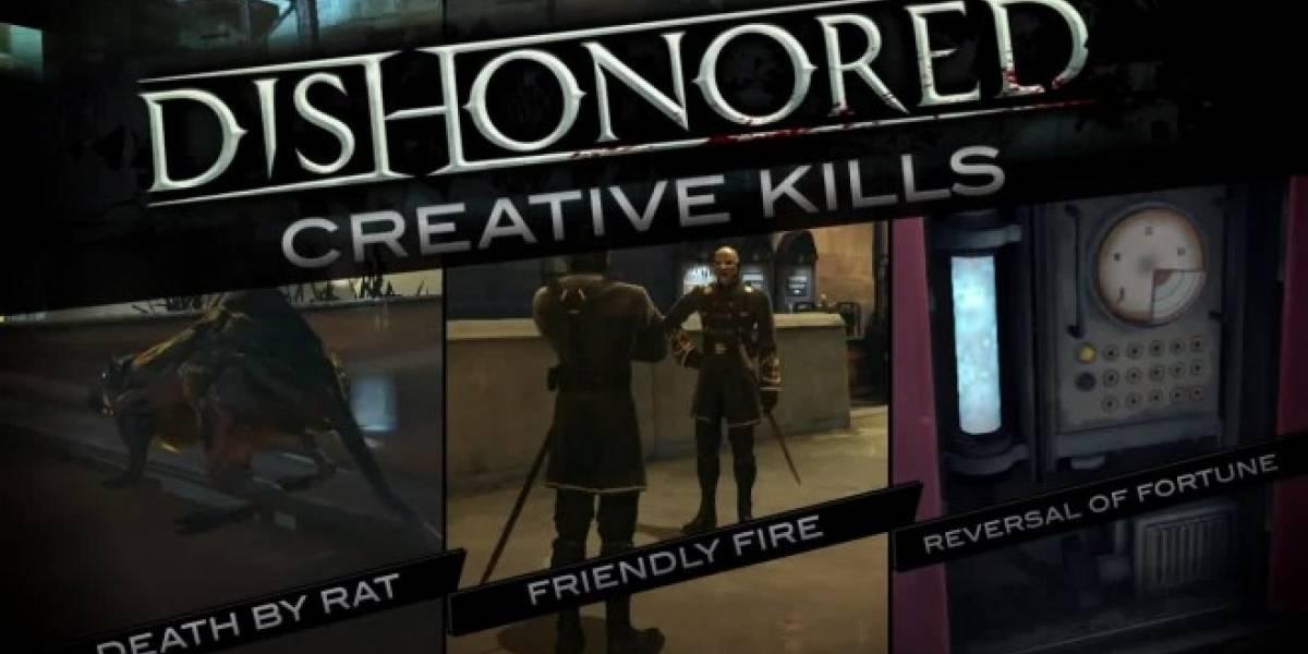 Formas creativas de asesinar en el nuevo trailer de Dishonored