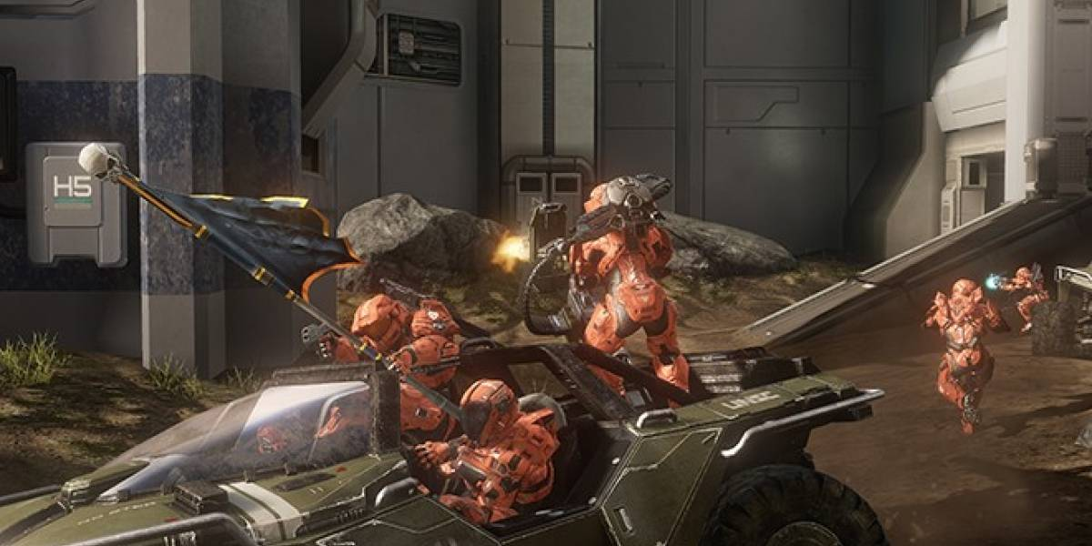 El paquete de mapas Crimson para Halo 4 será gratis para casi todos hasta la otra semana
