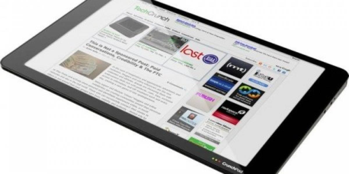 Futurología: CrunchPad costará USD $399 y saldrá en noviembre