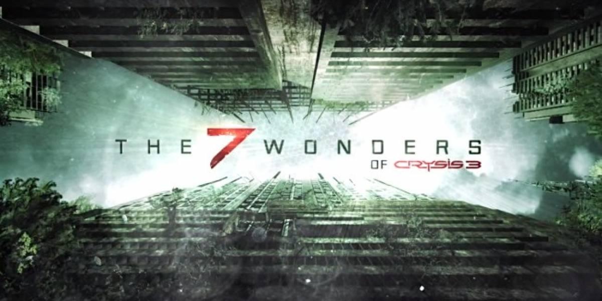 Ya está disponible el segundo episodio de Crysis 3 y sus 7 Maravillas
