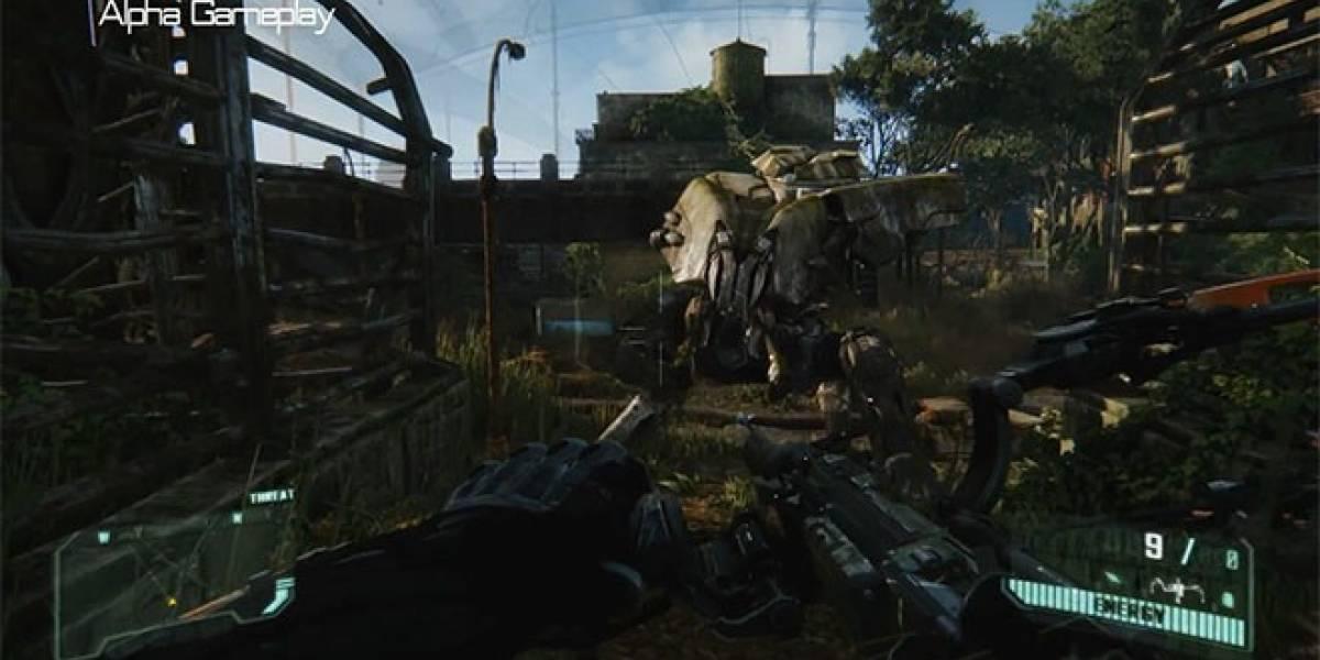 Mira cómo se juega este nivel de Crysis 3 en alta definición