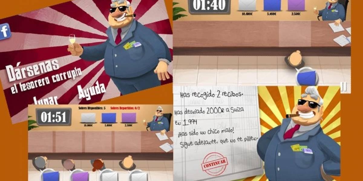 España: El caso Bárcenas ya tiene juego para iOS y Android