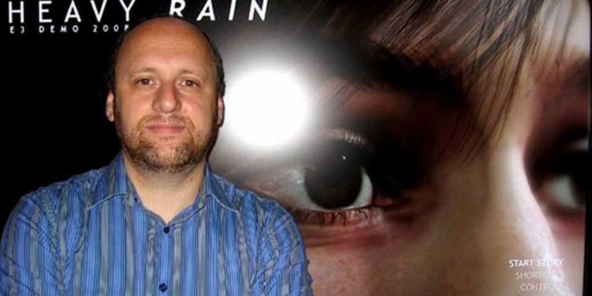 Según David Cage, los videojuegos morirán si no hay mayor nivel de innovación