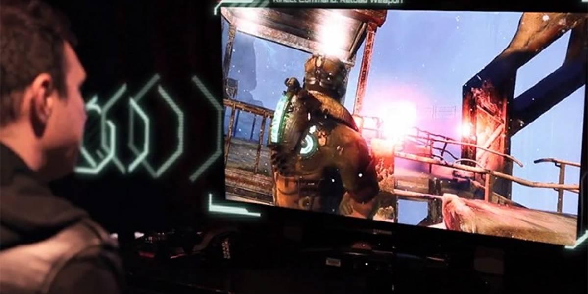 Así se juega Dead Space 3 con Kinect