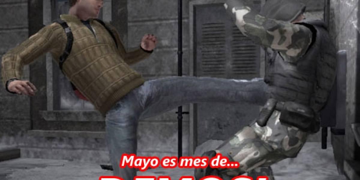 Mayo será mes de demos, preparen la interné