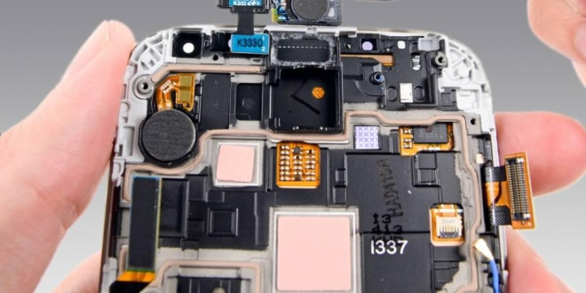 iFixit desarmó y evaluó las facilidades para reparar el Samsung Galaxy S4