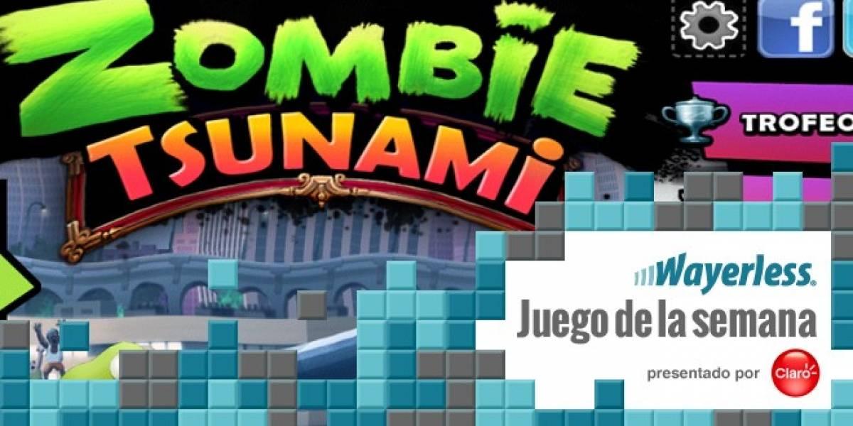 Zombie Tsunami: cuando transformar humanos es divertido [Juego de la Semana]