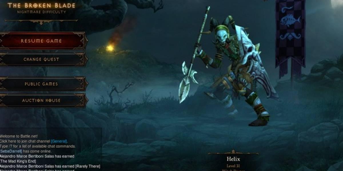 Grupo de chilenos terminó Diablo III en 8 horas y media