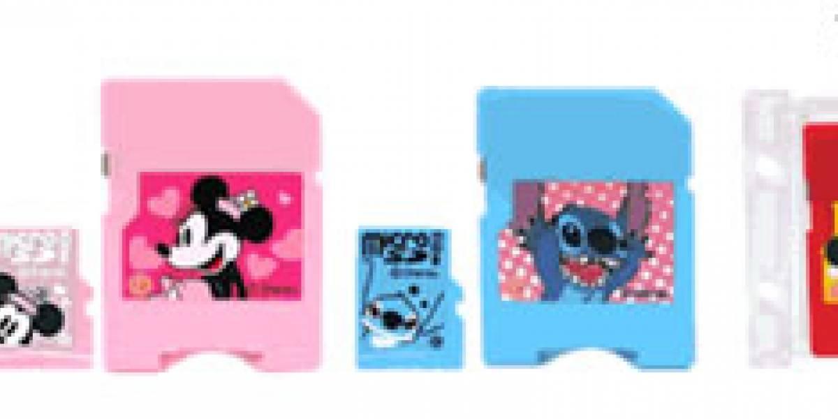 Disney Japón venderá películas en tarjetas microSD