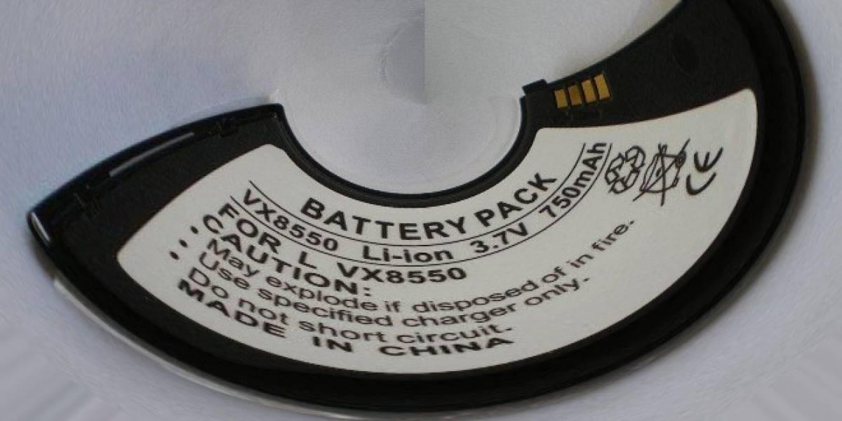 El teléfono flexible está cerca: Ya inventaron las baterías que se doblan