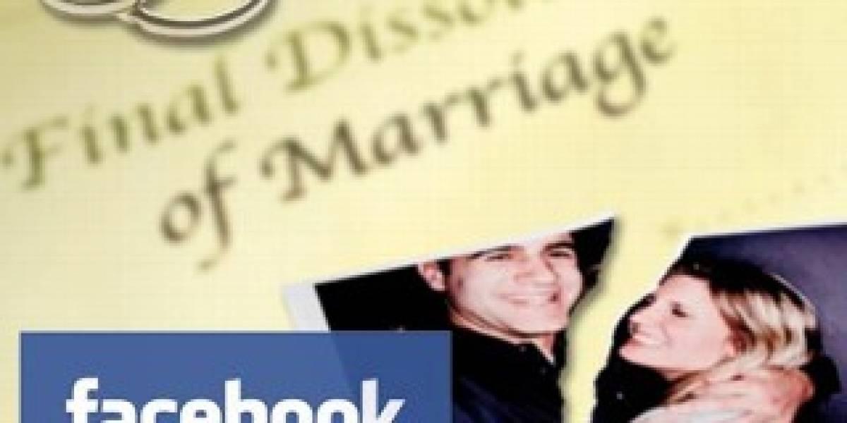 Facebook provoca miles de divorcios