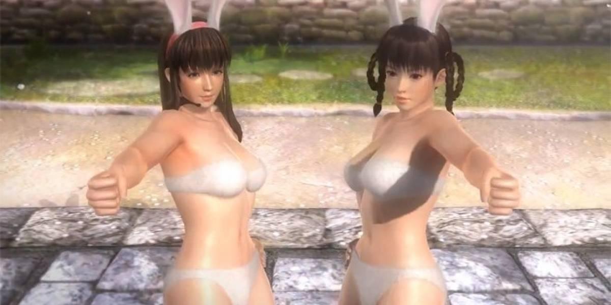 Las peleadoras de Dead or Alive 5 se dejan ver en nuevo video al estilo Playboy