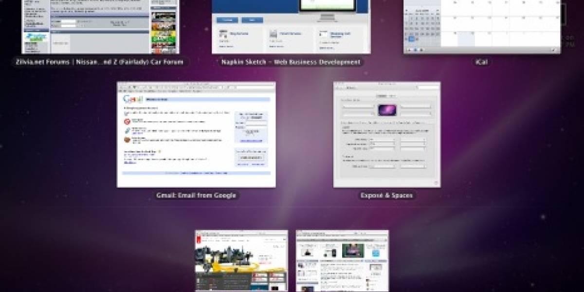 iPhone OS 4.0 tendría multitasking con interfaz similar a Exposé