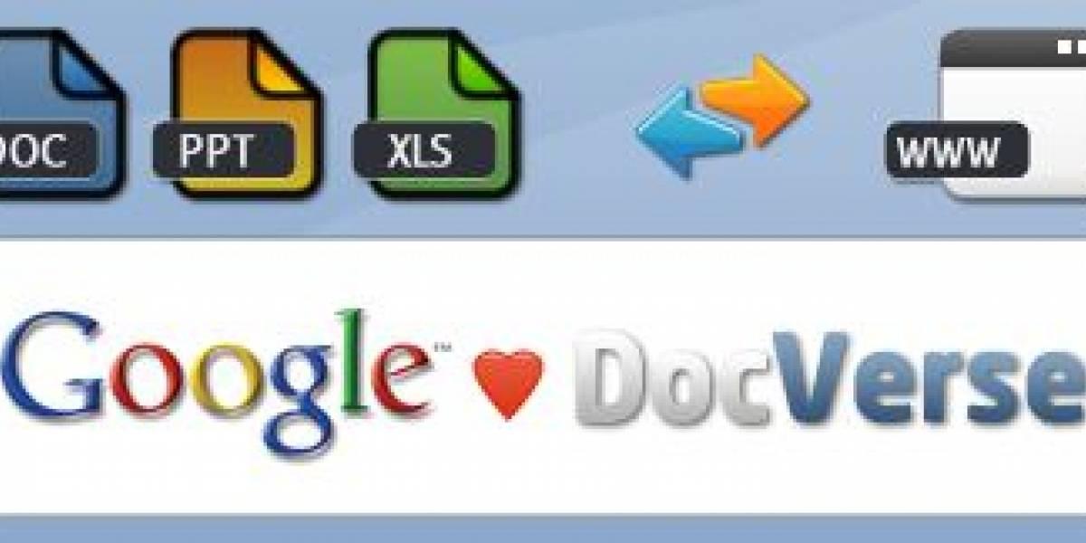 Google compra DocVerse para reforzar Google Docs