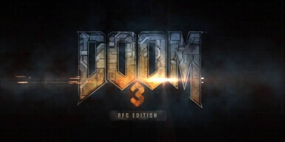 Este es el tráiler de lanzamiento de Doom 3 BFG Edition
