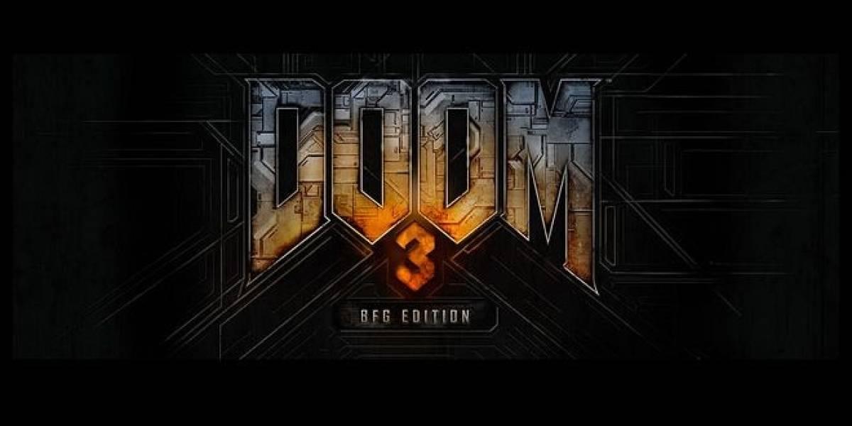 Bethesda e id Software anuncian Doom 3 BFG Edition para todas las plataformas HD