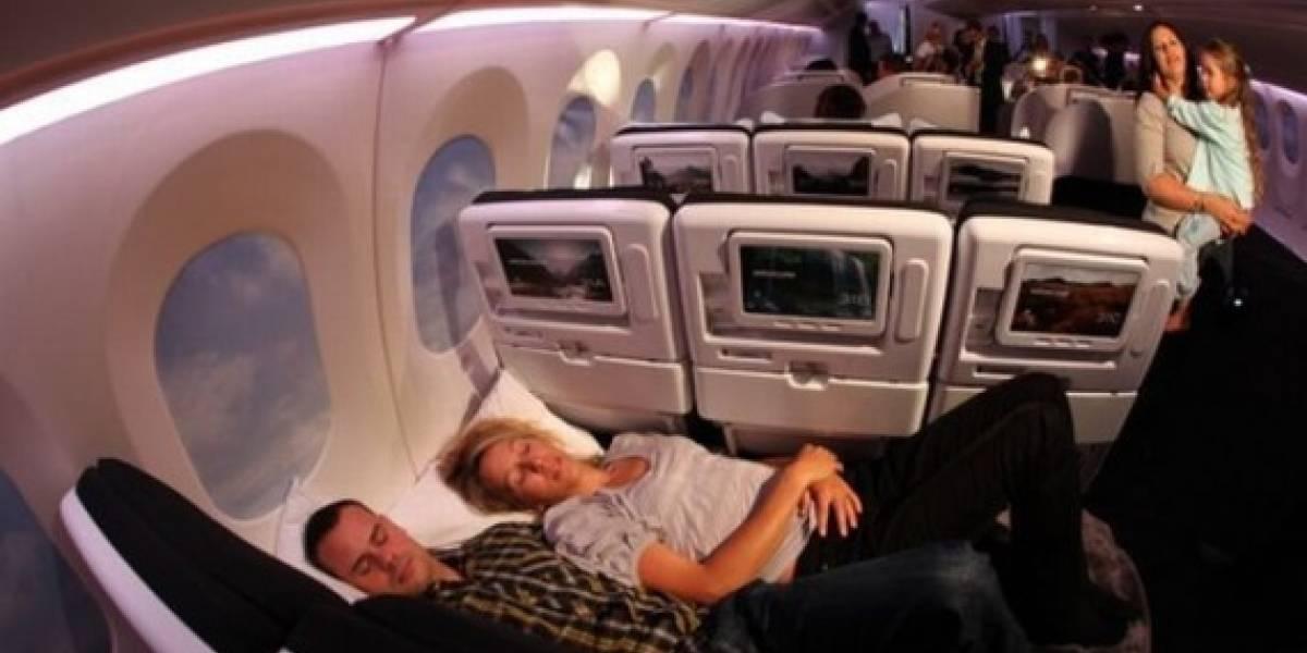 Adiós al insomnio aéreo: Acostado en clase económica