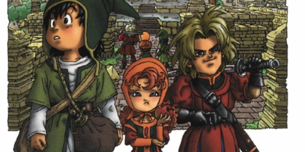 Remake de Dragon Quest VII llegará a la 3DS