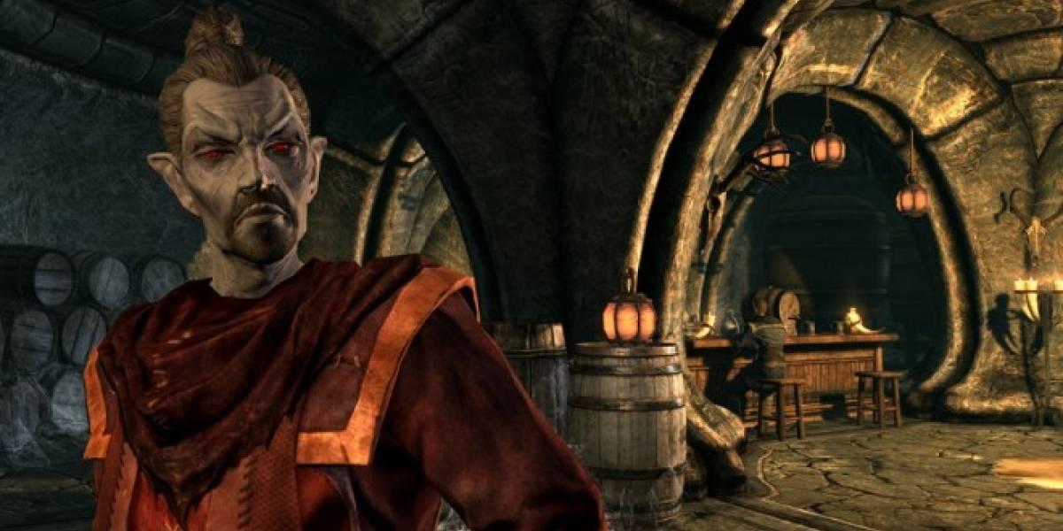 Skyrim en Xbox 360 se actualiza a su versión 1.8