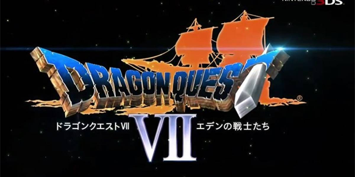 Dragon Quest VII para 3DS recibe su primer tráiler