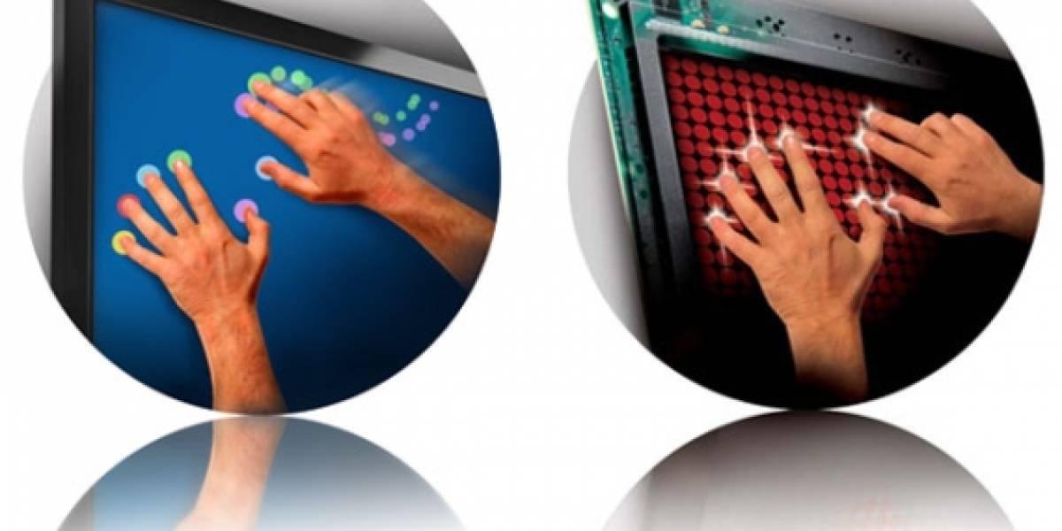 Presentan pantalla multitáctil con hasta 32 puntos de presión