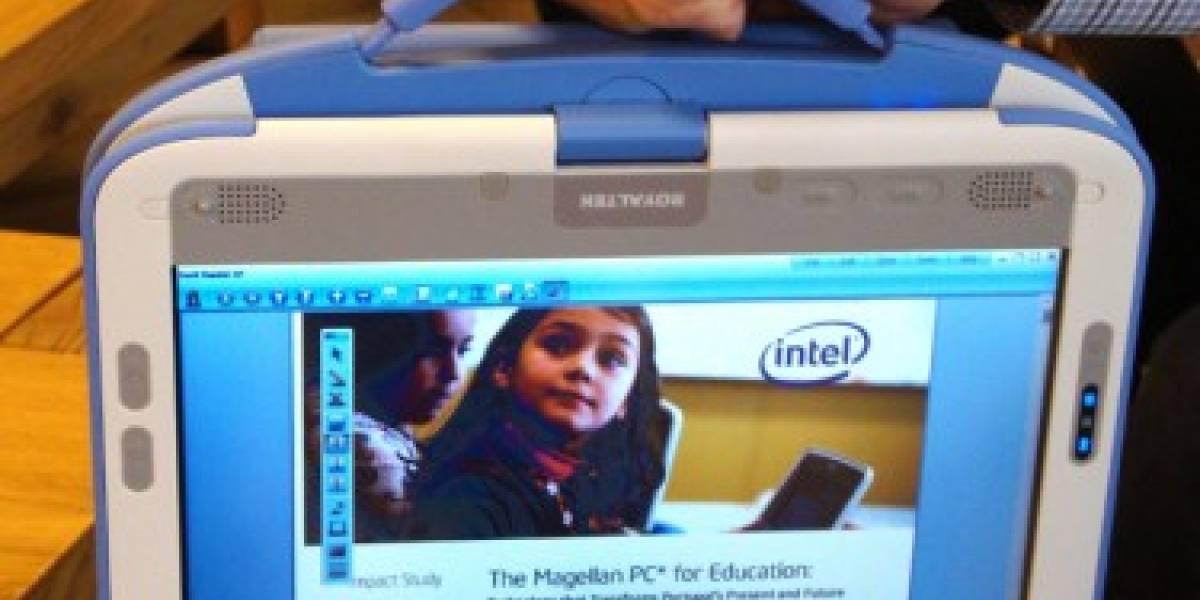 El nuevo Classmate PC de Intel es convertible