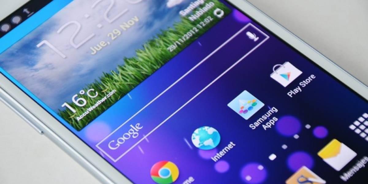 Descubren falla de seguridad en el Samsung Galaxy Note 2