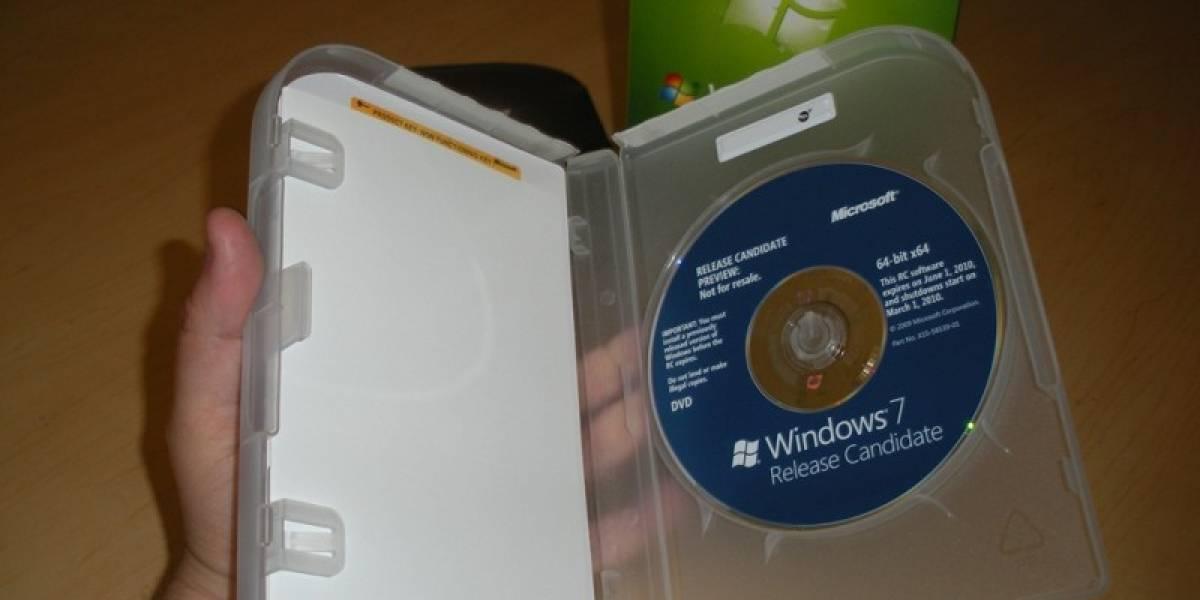 Microsoft nos presenta las cajas de Windows 7